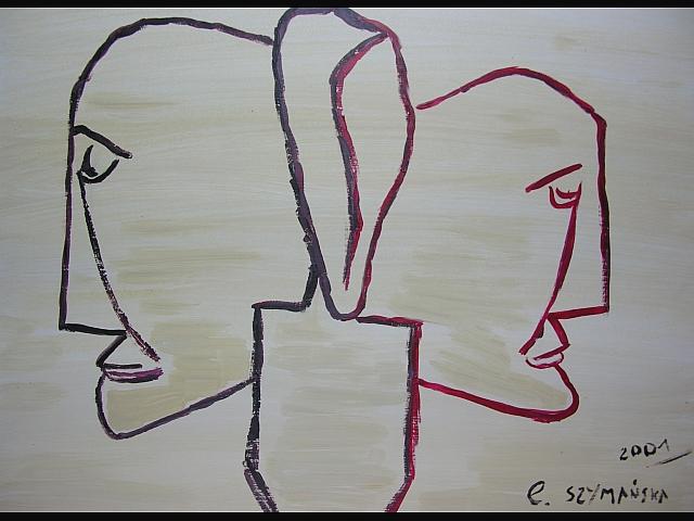 Gadające głowy - własna interpretacja